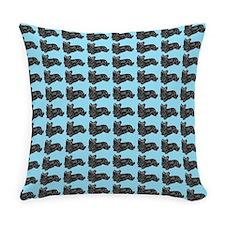 Cute Skye terrier Everyday Pillow