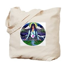 Cute Alaska state seal Tote Bag