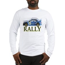 ...Rally Blue... Long Sleeve T-Shirt