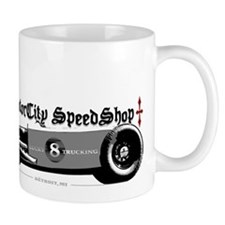 Custom Lucky 8 Hot Rod Mug