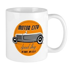 Motor City SpeedShop Custom Hot Rod Mug