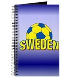 5&quot;x8&quot; Team Sweden Soccer Journal