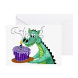Birthday Dragon Greeting Cards (Pk of 20)