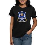 Aquin Family Crest Women's Dark T-Shirt