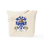 Aquin Family Crest Tote Bag