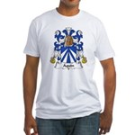 Aquin Family Crest Fitted T-Shirt