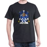 Aquin Family Crest Dark T-Shirt