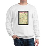 French Brainstorming Poster Sweatshirt