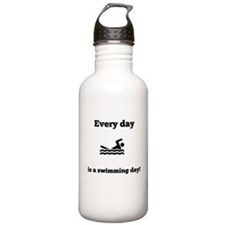 Every Day Is A Swimming Day Water Bottle