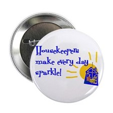 "Housekeeper Appreciation 2.25"" Button (10 pack)"