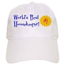 World's Best Housekeeper Baseball Cap