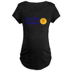 World's Best Housekeeper Maternity Dark T-Shirt