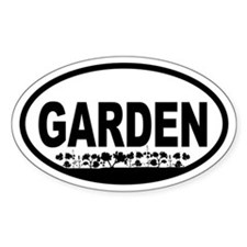 Garden Oval Stickers