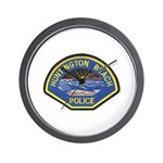 Huntington Beach Police Wall Clock