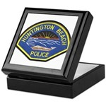 Huntington Beach Police Keepsake Box