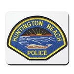 Huntington Beach Police Mousepad