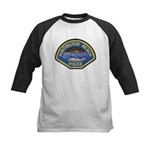 Huntington Beach Police Kids Baseball Jersey
