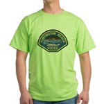 Huntington Beach Police Green T-Shirt