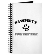 Personalized Cat Pawperty Journal