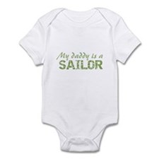 My Daddy is a Sailor Infant Bodysuit