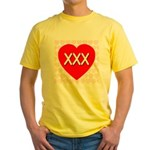 XXX Yellow T-Shirt