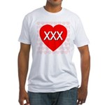 XXX Fitted T-Shirt