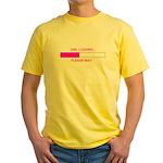 GIRL LOADING... Yellow T-Shirt