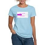 GIRL LOADING... Women's Light T-Shirt