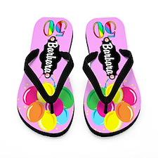 50th Party Girl Flip Flops