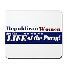 Republican Women Mousepad