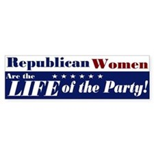 Republican Women Bumper Bumper Sticker