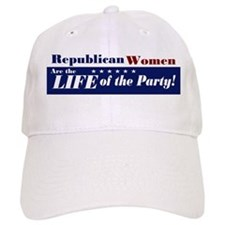 Republican Women Baseball Cap