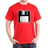 FLOPPY DISK Dark Tee Shirt
