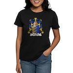 Alquier Family Crest Women's Dark T-Shirt