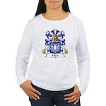 Allier Family Crest Women's Long Sleeve T-Shirt