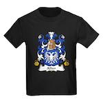 Allier Family Crest Kids Dark T-Shirt