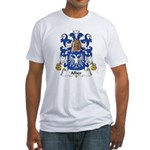 Allier Family Crest Fitted T-Shirt