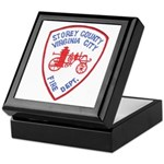 Virginia City Fire Department Keepsake Box