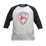 Virginia City Fire Department Kids Baseball Jersey