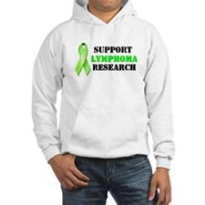 Support Lymphoma Research Hoodie