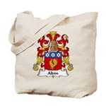 Aldin Family Crest Tote Bag