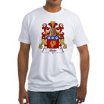 Aldin Family Crest Fitted T-Shirt