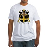 Albon Family Crest Fitted T-Shirt