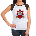 Ailly Family Crest Women's Cap Sleeve T-Shirt