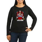 Ailly Family Crest Women's Long Sleeve Dark T-Shir