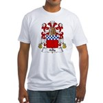 Ailly Family Crest Fitted T-Shirt
