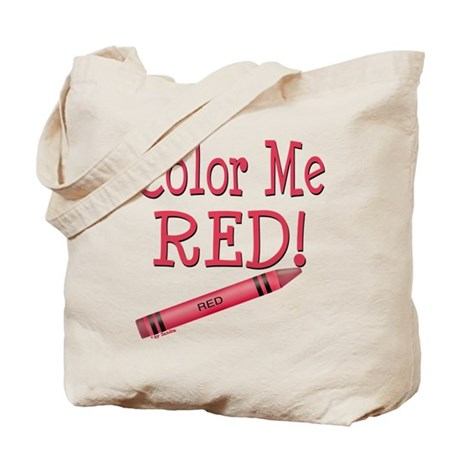 Color Me Red! Tote Bag