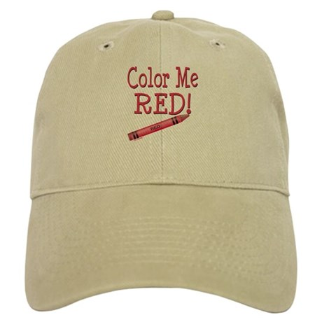 Color Me Red! Cap