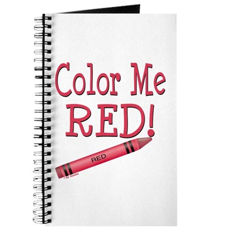 Color Me Red! Journal