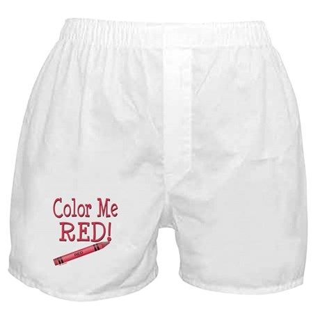 Color Me Red! Boxer Shorts